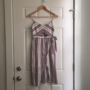 NWT Express cotton midi dress